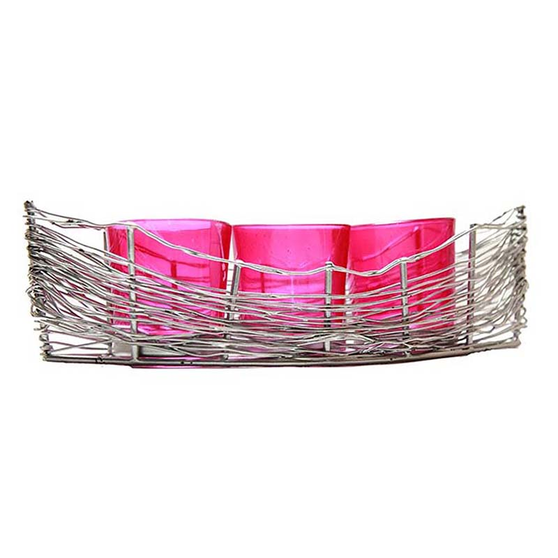Silver Wire Cruise Pink