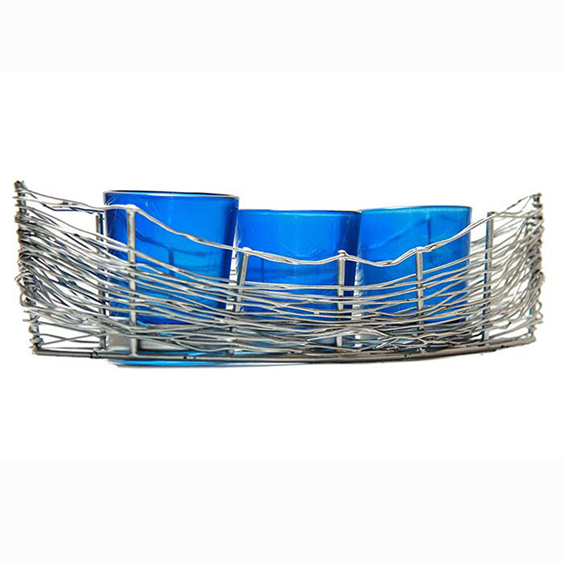 Silver Wire Cruise Blue