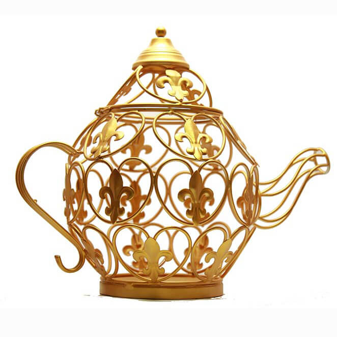 Coffee Table kettle Small Gold
