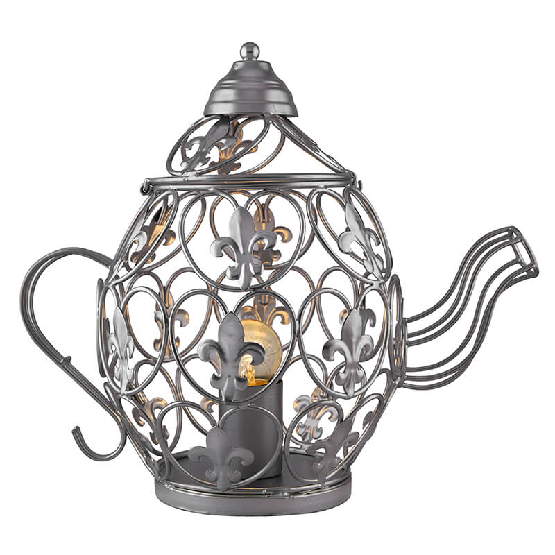 Silver kettle Table Lamp