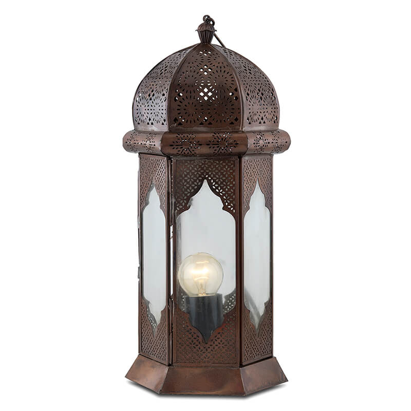 Moorish Moroccan Lamp
