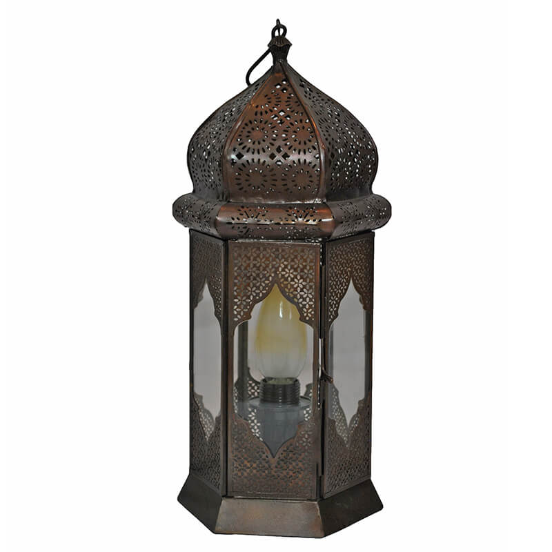 Moorish Moroccan Lamp