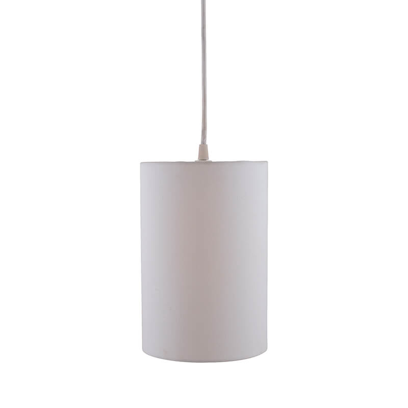 Classic Cylinder Hanging Shade, Hanging Pendant Light with Fixture