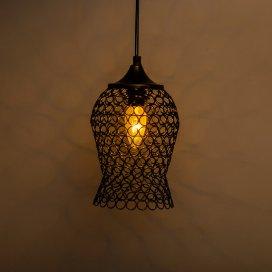 Hanging Black Steel Light, Hanging Light and Fixture