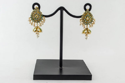 Kundan Regal Earrings